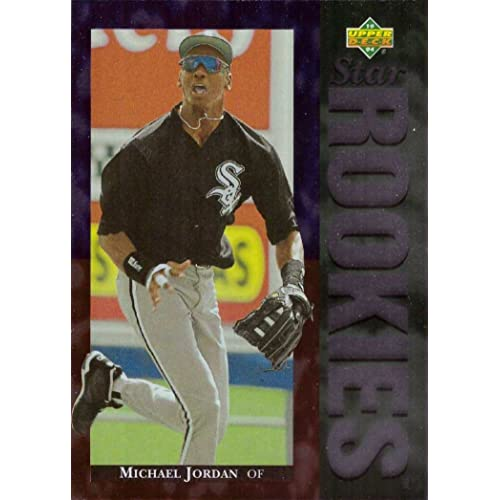 995cf4fc3e1 1994 Upper Deck Baseball  19 Michael Jordan Rookie Card