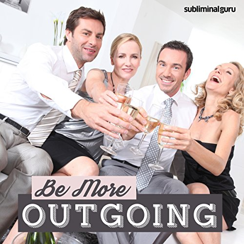 Be More Outgoing audiobook cover art