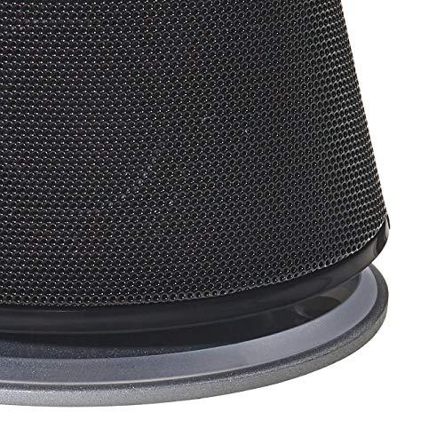 Amazon Basics - PC-Lautsprecher mit dynamischem Sound, USB-Betrieb, Schwarz, 1 Paar