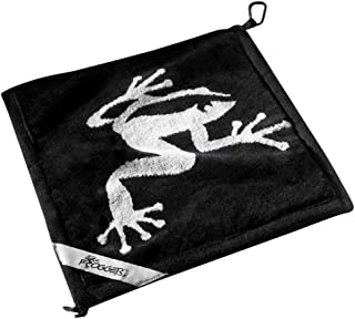 Frogger Golf Extra Large Amphibian Towel Golf Bag Rain Hood Golf Towel Cover Keeps Keeps Clubs and Grips Dry, Clean Clubs with Wet Exterior Towel, Dry Clubs and Grips with Interior Towel