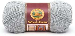Lion Brand Yarn Lion Brand Wool-Ease Yarn (151) Grey Heather