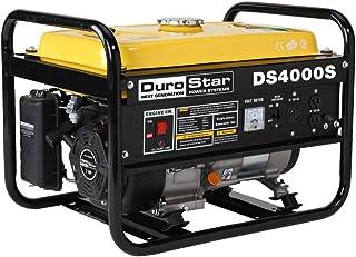 DuroStar DS4000S, 3300 Running Watts/4000 Starting Watts, Gas Powered Portable Generator (Certified Refurbished)
