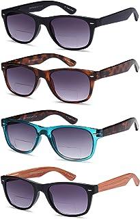 Sponsored Ad - Gamma Ray Bifocal Sunglasses for Men and Women - 3 Pairs Sun Readers Sunglasses