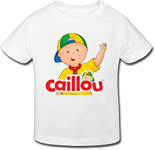 Toddler's 100% Cotton Caillou Funny Quotes T-Shirt