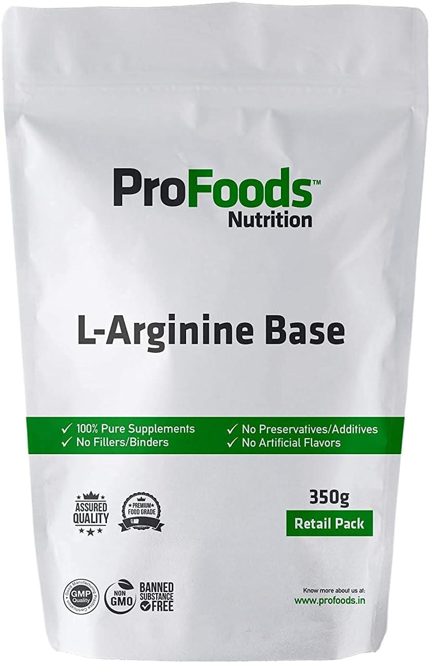 Catal Profoods High order L Brand new Arginine Grams Base 350 Powder
