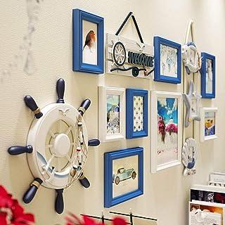 KINGXX-03 Cadres Photo Ensemble de 13 Multi Cadres Photo Cadres Photo Collage DIY Home Frame Mount Mount avec Pack d'acces...