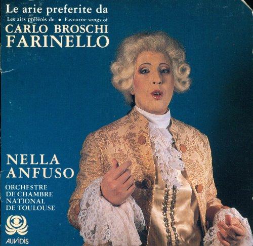 Le Arie Preferite Les Airs Preferes Favourite Songs Carlo Broschi Farinello