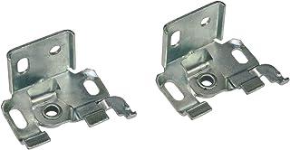 Gardinia - Soporte para Cortina (Metal, galvanizado, 0.1, 2 Unidades)