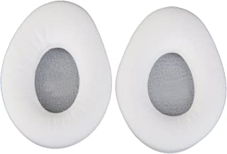 HG-X White Ear Pads Cushions for Monster Diamond Tears Edge Headphones Headset