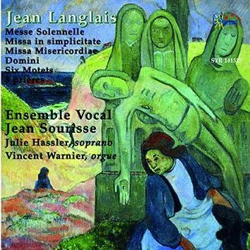 Langlais: Messes et Motets pour chœur et orgue