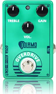 Green Vintage Overdrive Guitar Effects Pedal Sound...