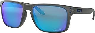 Holbrook XL Sunglasses Grey Smoke with Prizm Sapphire Polarized Lens + Sticker