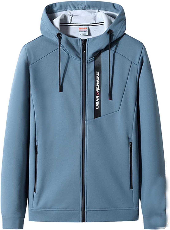 Men's Plus Size Thicken Parka Coat Warm Fleece Lining Hiking Jacket Hooded Winter Outdoor Outerwear Windproof Coat