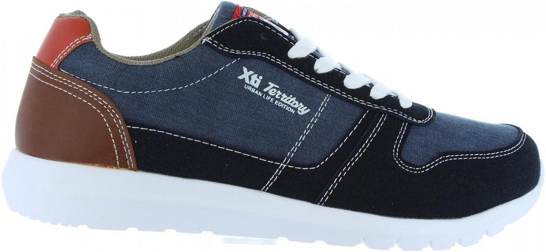 XTI Men shoes 46494 Textil C Navy