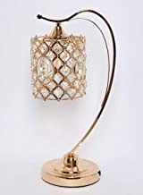 Homes r us Hanging Table Lamp, Copper/Gold - 21 x 43