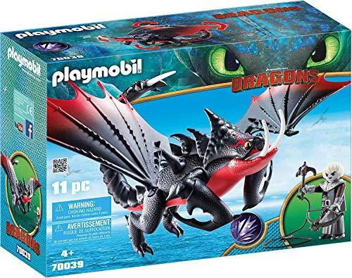PLAYMOBIL 70039 - DreamWorks Dragons Todbringer und Grimmel, Ab 4 Jahren