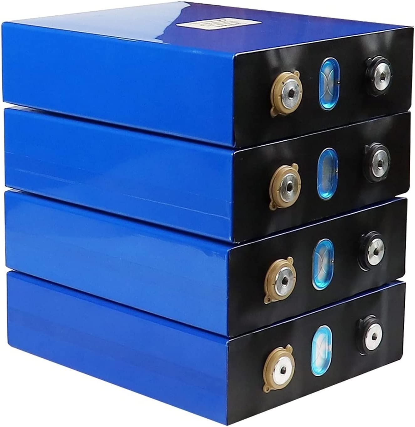 ZOOMLOFT 4 Uds 3,2V 200Ah Lifepo4 Batería DIY 12V/24V/48V 200AH Batería Recargable para Coche Eléctrico RV Sistema De Almacenamiento De Energía Solar