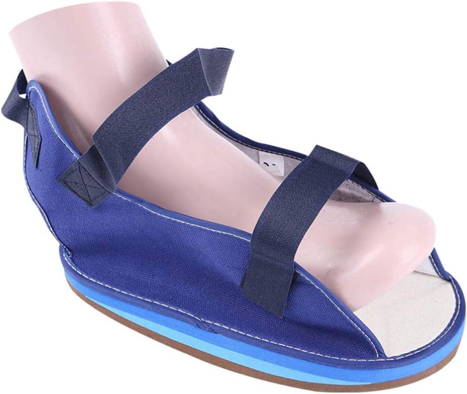Healifty Foot Fracture Cast Shoe Broken Over item handling ☆ Walking half Ankle Toe S