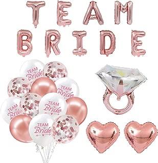 Best team bride balloons Reviews
