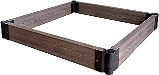 comprar comparacion Tenax - WPC Flower Bed - Bordura modular decorativa de WPC (compuesto de madera y plástico) para jardín