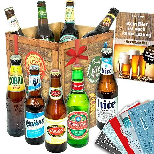 Biere der Welt/mit Bierbuch uvm. / Geschenkidee für Ihn zum Geburtstag