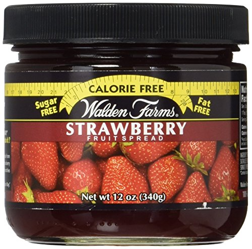 Walden Farms Kalorienfreie Fruchtaufstrich 340g Erdbeere
