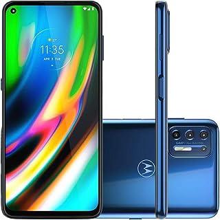 "Smartphone Motorola XT2087 Moto G9 Plus Azul Índigo128GB Tela 6.8"" Câmera 64 MP 8 MP 2 MP 2 MP"