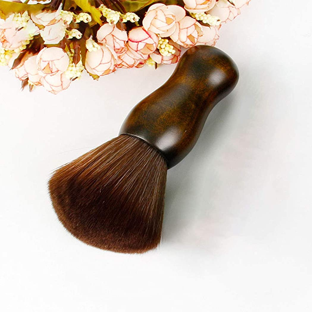 認知話すハッチ専門のバリカンつばの三つ編みのブラシの頭部、木のハンドルの毛の切断装置のナイロンブラシ