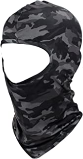 Camouflage Thin Ski Mask Camo Airsoft Balaclava Black Motorcycle Face Mask