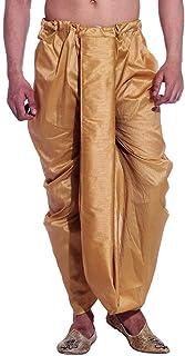 Royal Men's Silk Blend Fancy Dhoti
