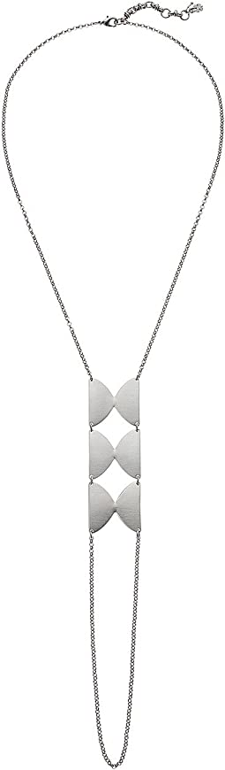 Disk Y-Necklace