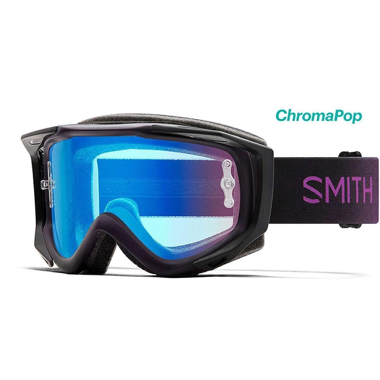 Smith Optics Fuel V2 Adult Off-Road Goggles - Violet Burst/Chromapop Contrast Rose Flash/One Size