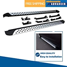 AAAdvancer Fits for Audi Q7 2006-2015 Aluminum Running Boards Side Steps Nerf Bar Side Bar Protector Bar