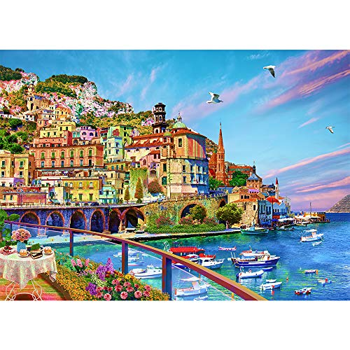 Jigsaw Puzzles for Adults 1000 Piece Puzzle for Adults 1000 Pieces Jigsaw Puzzle 1000 Pieces-Amalfi Coast