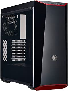 Cooler Master MasterBox Lite 5 ATX Mid Tower Case with DarkMirrow Front Panel and Transparent Acrylic Side Panel - Black -...