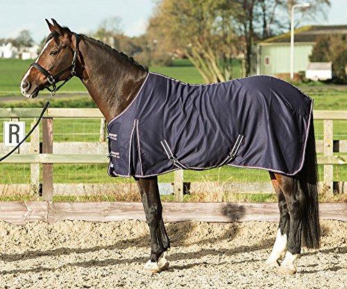 Harry's Horse Edredón de Verano 32200017-205 cm, polialgodón, Azul Marino, L