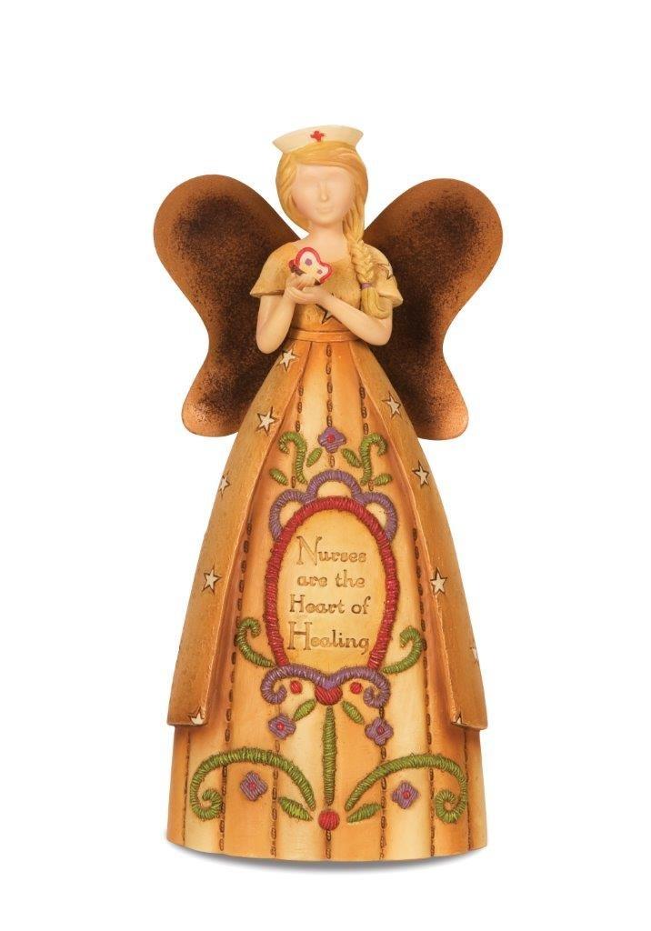 6-Inch Pavilion Gift Company Country Soul 29035 Angel Figurine Nurse
