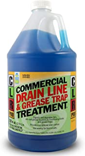 CLR Pro Commercial Drain Line and Grease Trap Treatment, 1 Gallon Bottle