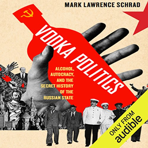 Vodka Politics audiobook cover art