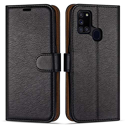 Case Collection Custodia per Samsung Galaxy A21s Cover (6,5') a Libretto in Pelle di qualità Superiore con Slot per Carte di Credito per Samsung Galaxy A21s Custodia