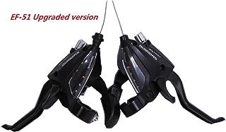 Shimano ST-EF500 palanca de freno / cambio de bicicleta de 3 x 7 velocidades de Shimano