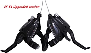 SHIMANO ST-EF500 3 x 7 Speed Bike Shift/Brake Lever Set