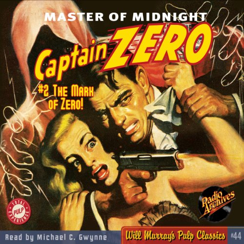 Captain Zero #2, January 1950 audiobook cover art