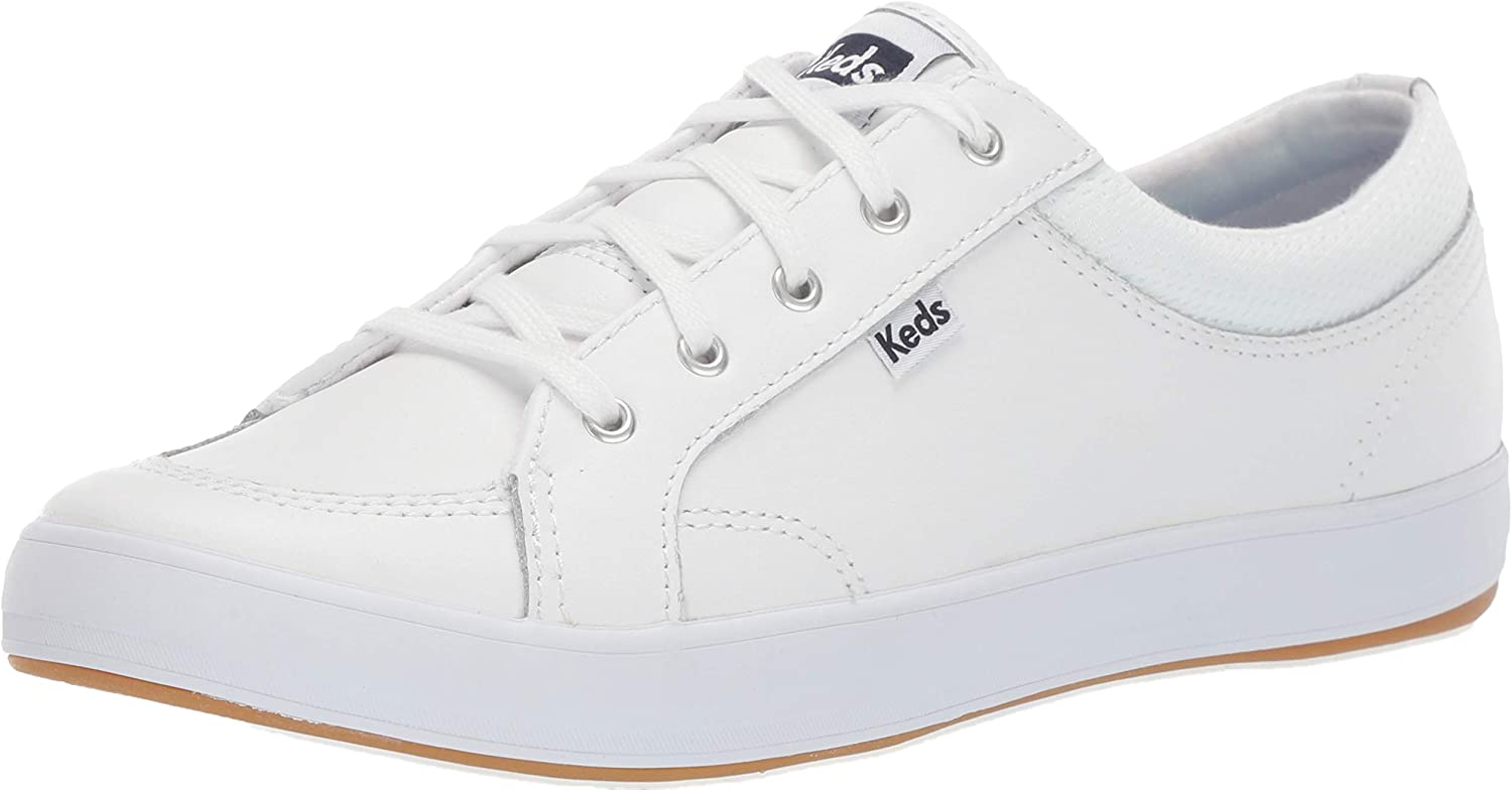 Keds Womens Center Leather Fashion Sneakers