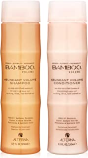 Bamboo Volume Abundant Volume Shampoo and Conditioner Set, 8.5-Ounce