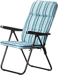 PAPILLON 8044450 Silla Playa Acolchada Acero 5 Posiciones, Multi, 60x100x30 cm