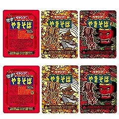 ペヤング 激辛 焼きそば 3種セット 激辛 獄激辛 獄激辛カレー (激辛やきそば118g×2個,激辛やきそばEND119g×2個,獄激辛やきそば119g×2個)