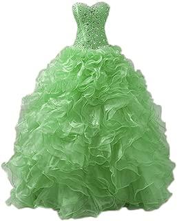 quinceanera dresses apple green