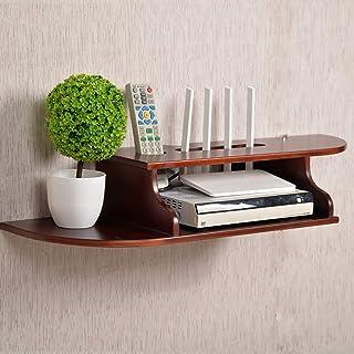 Los estantes flotantes TV Montado en la pared Dormitorio de la mesa de madera Sólido Dormitorio Sala de estar Zócalo de pa...