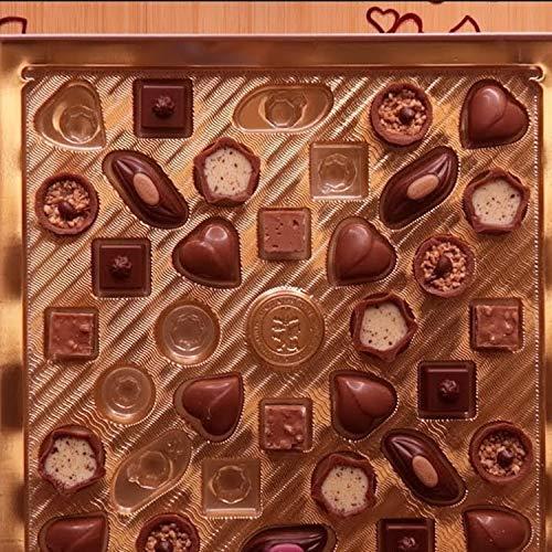 Eating Mini Praline Valentine Chocolates with rain in the background Pt.1